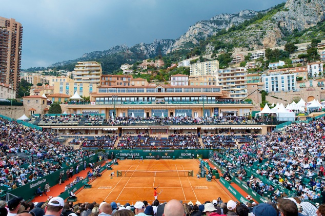Tennis - Masters Series Monte-Carlo - Day 2 - Men's Singles 2nd Round - Jo-Wilfried Tsonga (FRA) v Nicolas Almagro (ESP)